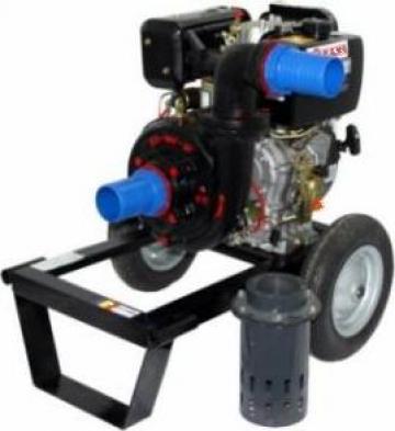 Motopompa de irigat diesel Gardelina DWP186K de la Basarom Com