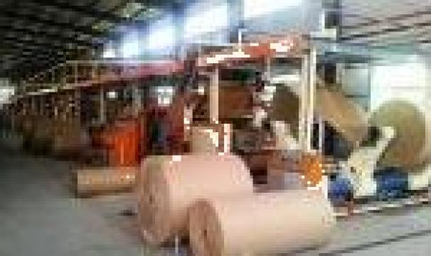 Masina de produs carton ondul 3-5-7 straturi de la Kronstadt Papier Technik S.a.