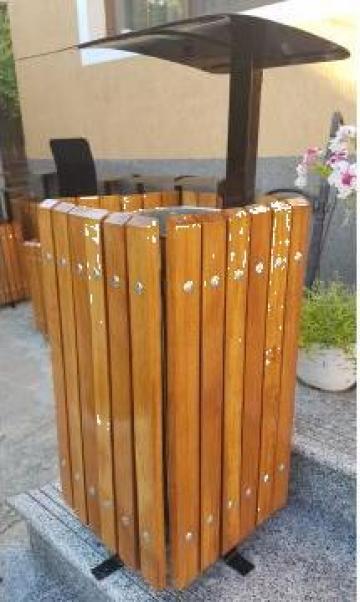 Cos de gunoi patrat BB221 de la Ygrocris Dorally Steel Srl