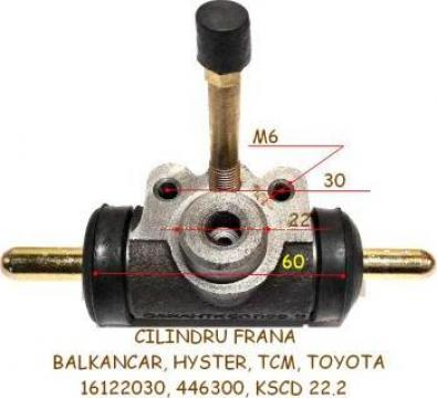 Cilindru frana Balkancar, Still, Clark, Hyster, 22.2mm