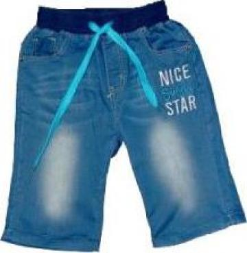 Pantaloni cu elastic in talie pentru baieti B