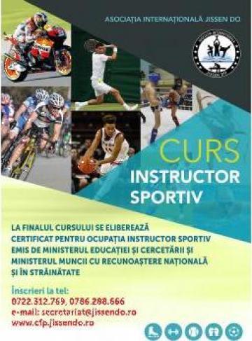 Curs acreditat instructor sportiv