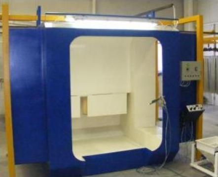 Cabina de vopsire electrostatica de la Instalatii De Vopsire Electrostatica Electroset Kovacs Pfa