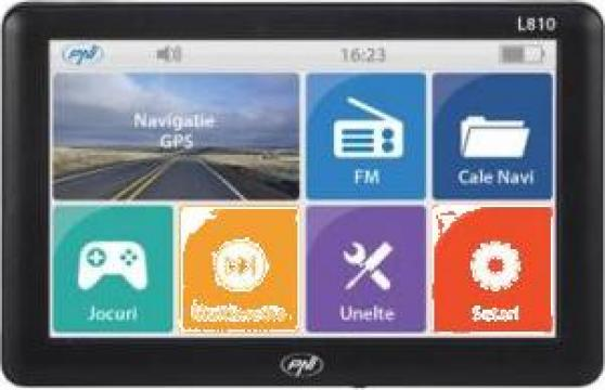 Sistem navigatie GPS PNI L810 cu harti full Europa de la Electro Supermax Srl