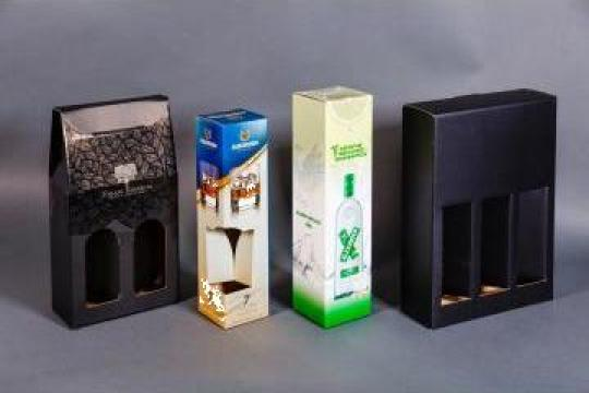 Cutii carton ondulat, caserate