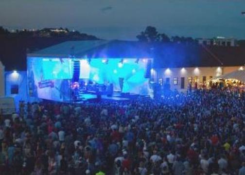 Scena mare spectacole si evenimente indoor sau outdoor de la Topsound