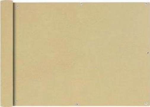 Prelata balcon, material textil oxford, 75 x 600 cm