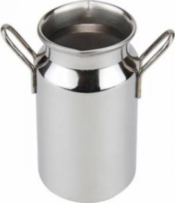 Minibidon inox servire sosuri, smantana Ilsa 150ml 5xh8cm de la Basarom Com