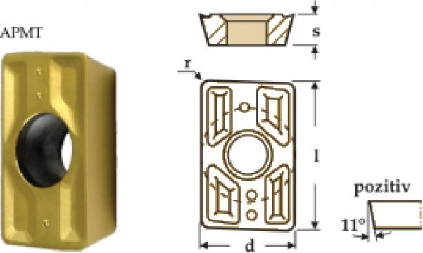 Placute amovibile paralelipipedice 85 grade - APMT de la Electrofrane