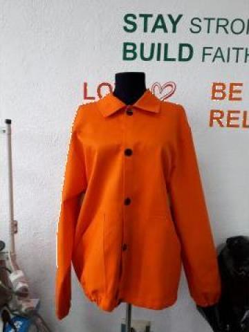 Bluzon de lucru portocaliu de la Sc Atelier Blue Srl