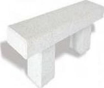 Banca din beton de la Conamo Sport Srl