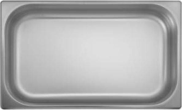 Tava inox gastronorm Ozti 1-1 GN 100x530x325mm, 14litri