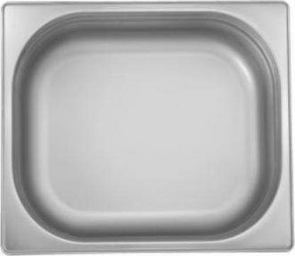 Tava inox gastronorm Ozti 1-2 GN 150x325-265mm, 8,5litri