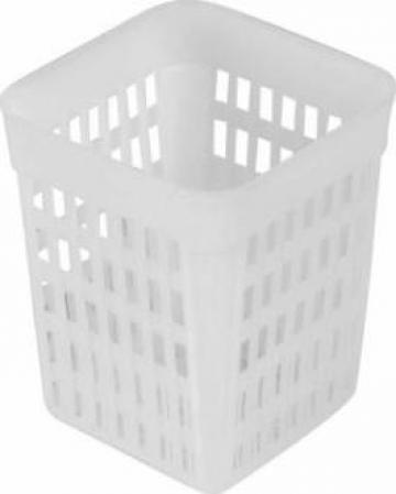 Organizator tacamuri 10,7x10,7x13,8cm de la Basarom Com