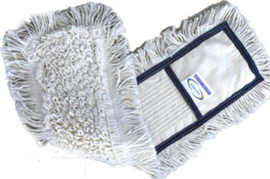 Mop bumbac Raki pentru curatenie combinata 40cm de la Basarom Com