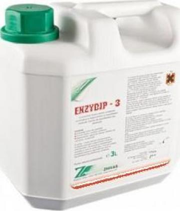 Detergent enzimatic dezinfectant instrumentar Enzydip-3 de la Redalin Test