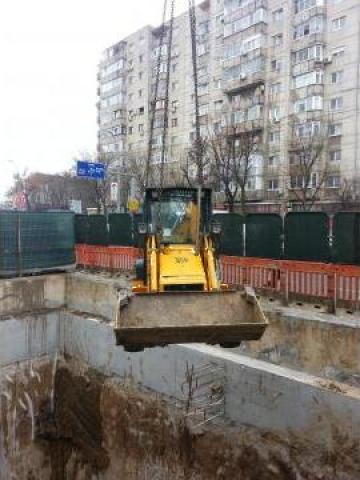 Inchiriere buldoexcavator JCB 3CX Bucuresti de la Trans Udroiu Srl