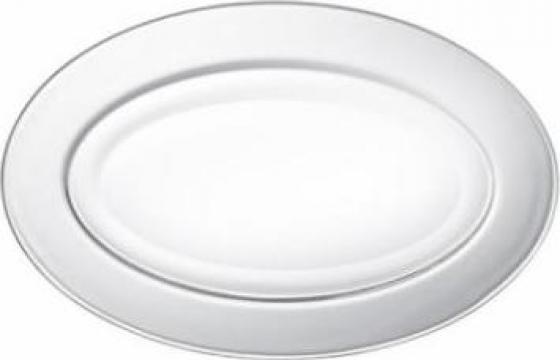 Platou oval 26cm Duralex LYS Transparent de la Basarom Com