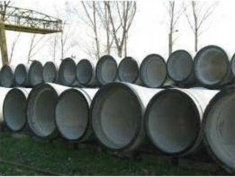 Tuburi armate din beton de la Sc Media Steel Srl