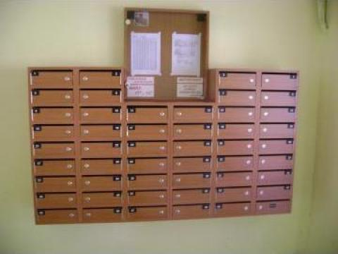 Cutii postale 50 apartamente de la Corban Mobila Srl
