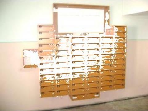 Cutii postale 66 apartamente de la Corban Mobila Srl