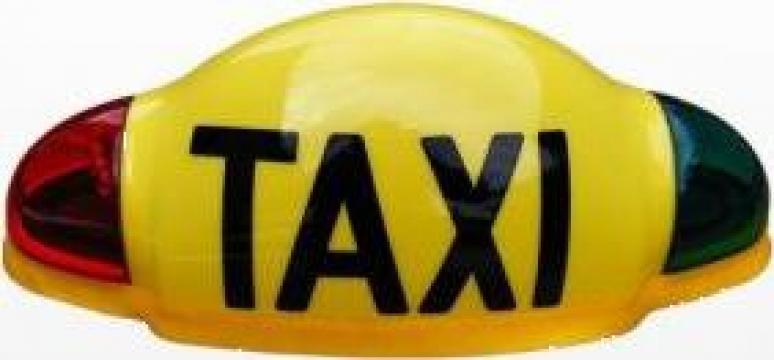 Lampa Taxi cu leduri si ventuze magnetice de la Electro Supermax Srl