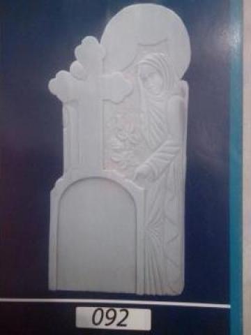 Cruci funerare de la Cruci Mozaic, Marmura