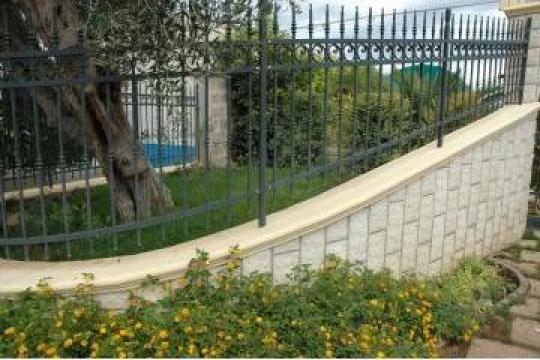 Garduri fier forjat realizat pe comanda de la Rollux Construct