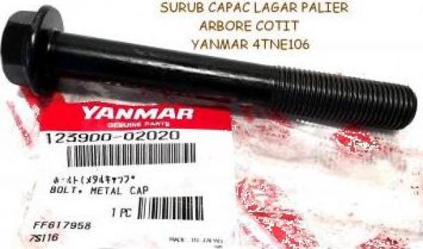 Surub capac lagar palier arbore cotit Yanmar 4TNE106