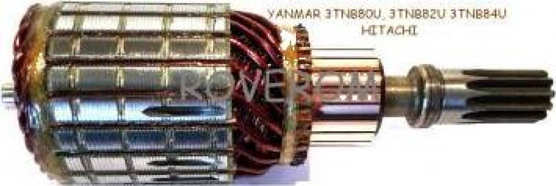 Rotor demaror Yanmar, Hitachi, John Deere
