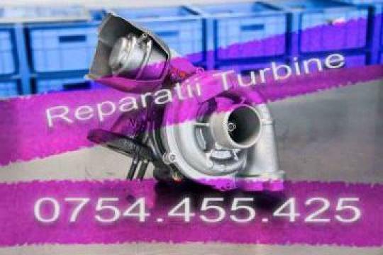 Reparatie turbina pentru Peugeot 407 1.6 HDI de la Reparatii Turbosuflante