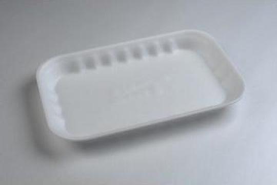 Tavita polistiren PT9-25 STD (270x170x25mm) 500 buc/bax de la Cristian Food Industry Srl.