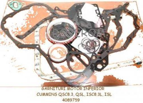 Garnituri motor inferior Cummins QSC8.3, QSL, ISC8.3L, ISL