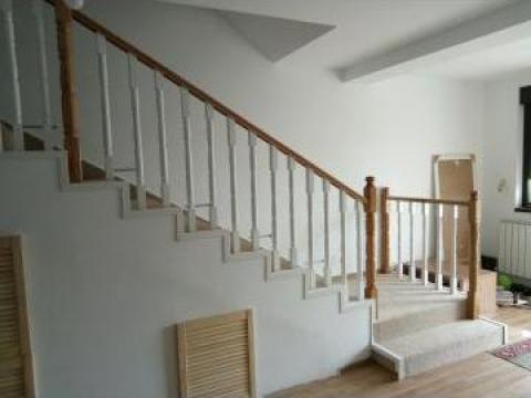 Balustrada lemn masiv