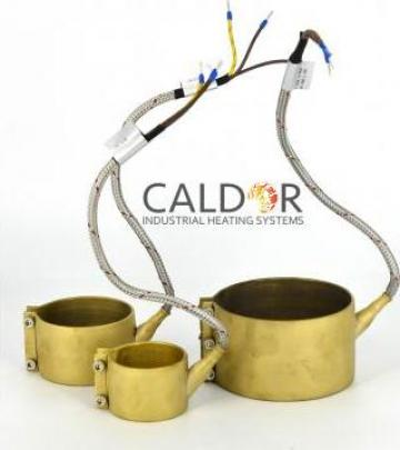 Rezistenta electrica duza 40 x 35 x 225w de la Caldor Industrial Heating Systems Srl