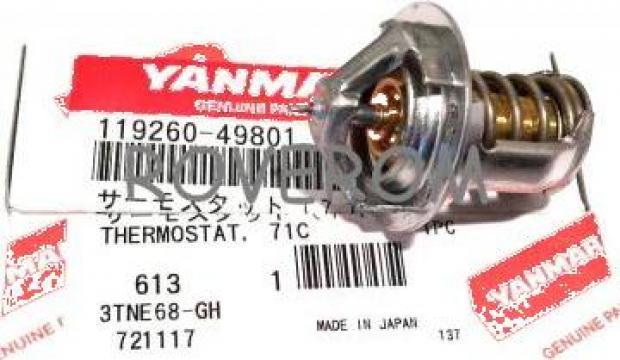 Termostat Yanmar 2TNE68, 3TNE68, Komatsu 3D68E, 71*C, D=30mm