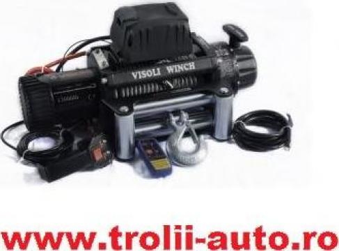 Troliu auto electric 12000lbs/5450kg de la Trolii-auto.ro