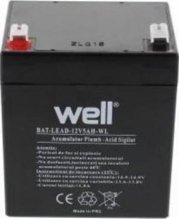 Acumulator plumb acid Well 6v 4Ah de la Electro Supermax Srl