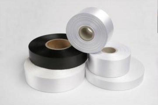 Banda nylon Taffeta 30 x 200 pentru etichete textile de la Labelmark Solution