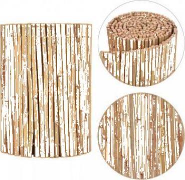 Gard din bambus pentru gradina 500 x 30 cm