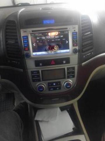 Sistem navigatie Hyundai Santa Fe 2006-2012 cu Android 8.0