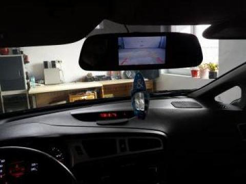Senzori de parcare cu oglinda si camera marsarier