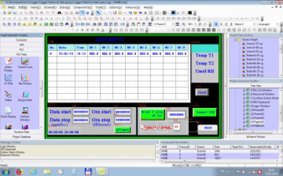 Software HMI Panou Operare de la Electric Film S.r.l.