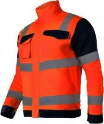 Jacheta reflectorizanta premium / portocaliu