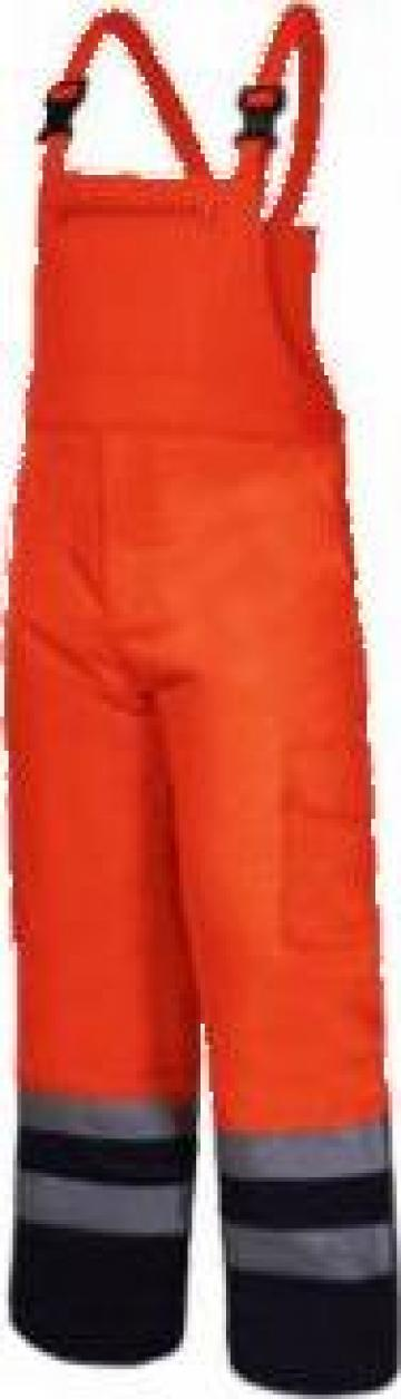 Salopeta reflectorizanta captusita / portocaliu