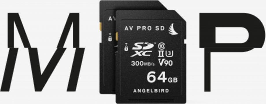 Card memorie Angelbird 64 GB pentru Panasonic GH5 & GH5S de la West Buy SRL