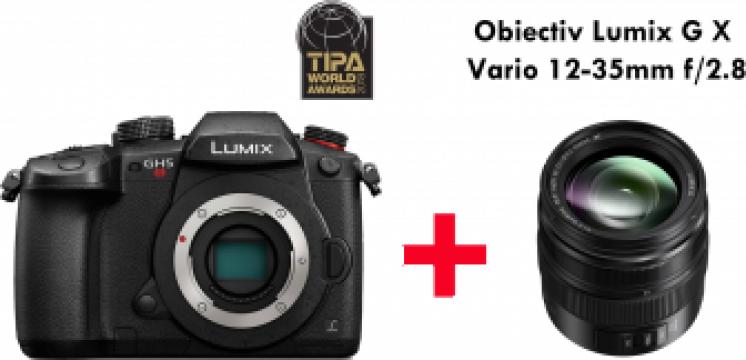 Camera foto Panasonic Lumix DC-GH5S + obiectiv Lumix G X de la West Buy SRL