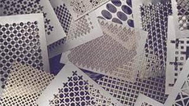 Tabla din otel cu gauri rotunde 1,5 mm de la Electrofrane