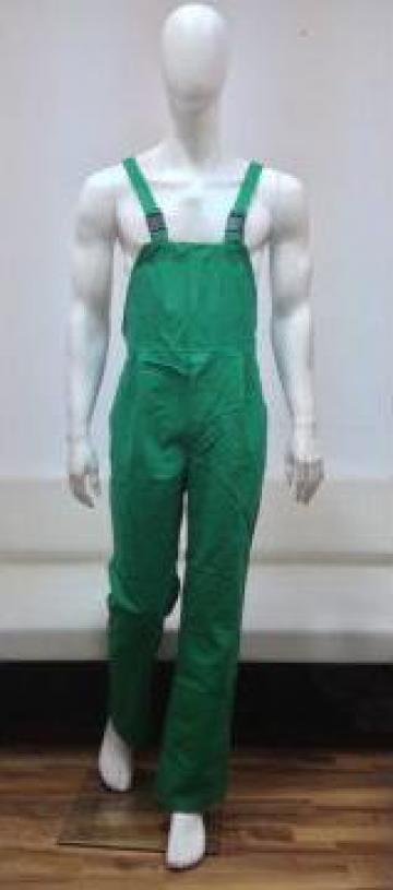 Pantaloni cu pieptar de la Branio