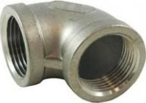 Coturi 90 grade FI-FI BSP din inox 304/316 de la Electrofrane